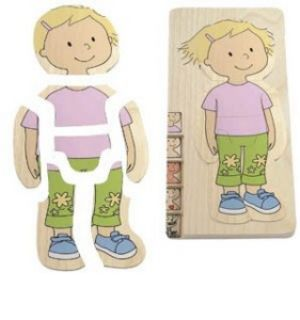 Girl 5 Layer Puzzle